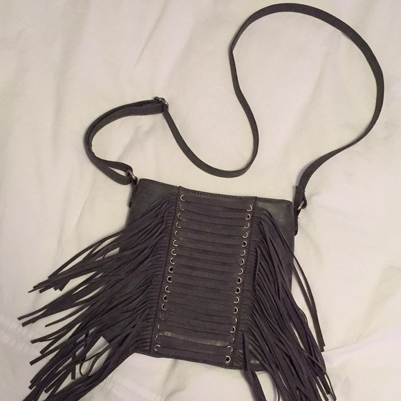 Maurices Handbags - Maurices Charcoal Crossbody Purse - like NEW!